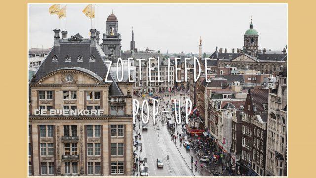 ZoeteLiefde opent POP-UP op Amsterdam CS