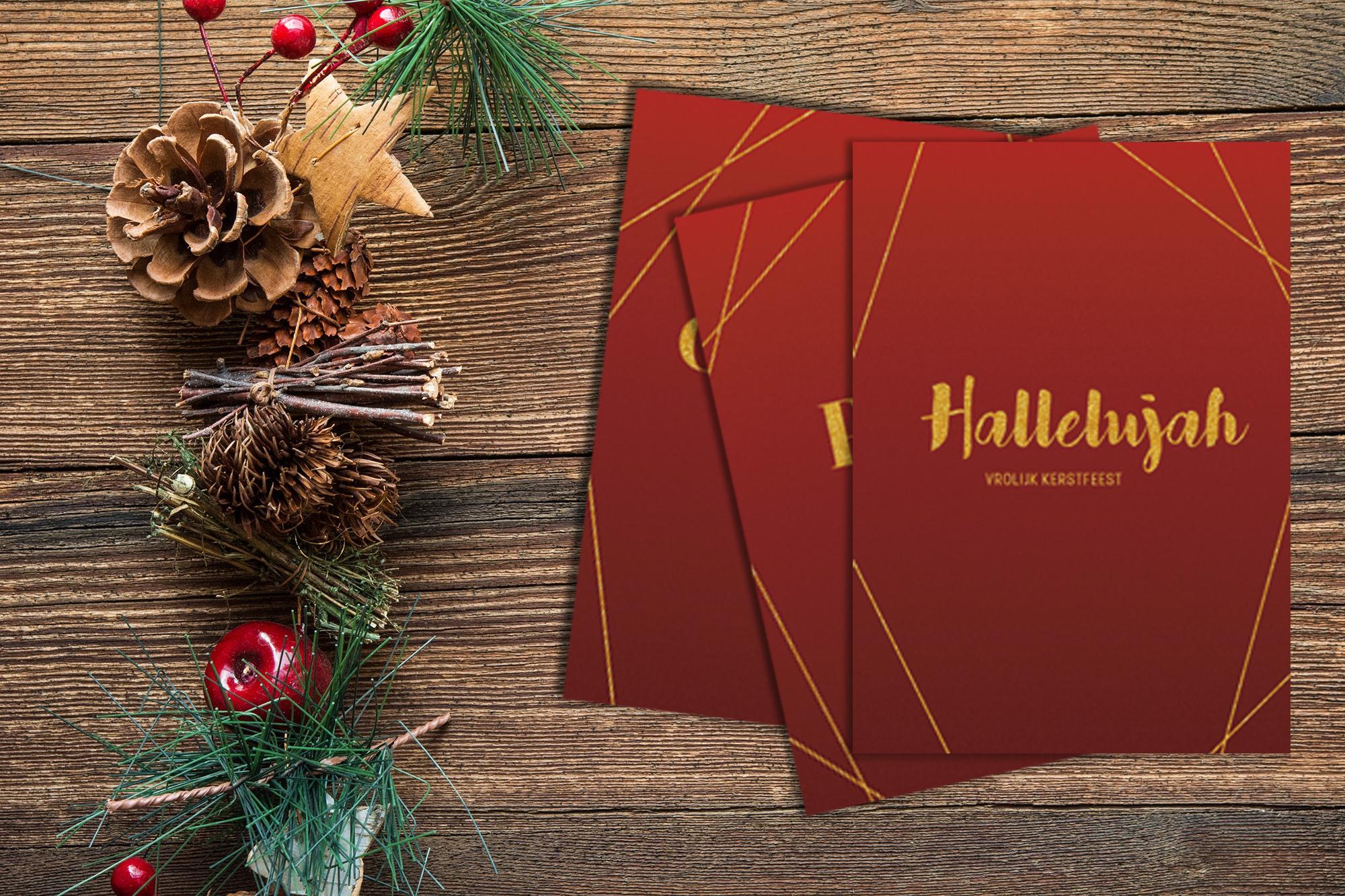 Bestel je kerstkaarten dit jaar bij ZoeteLiefde