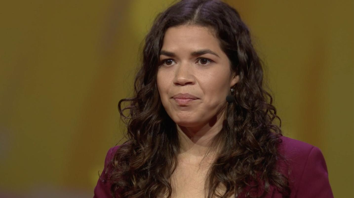 America Ferrera: 'Je identiteit is je superkracht, niet je obstakel'