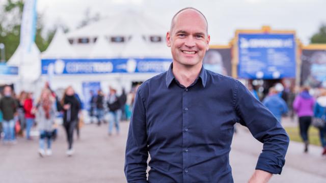 Gert-Jan Segers is hoopvol over Nederland